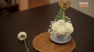 Arreglos de mesa para bodas – facil de hacer en tres minutos !!!