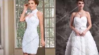 El vestido de novia para boda civil