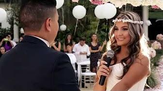 Wedding Nubia + Andres BODA CRISTIANA HERMOSA Y ESPECTACULAR